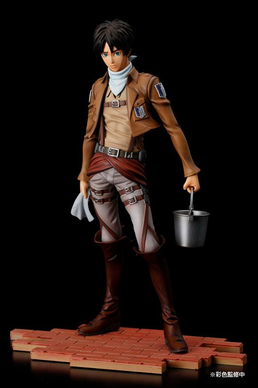 Фигурка Eren Yeager (Cleaning Edition)