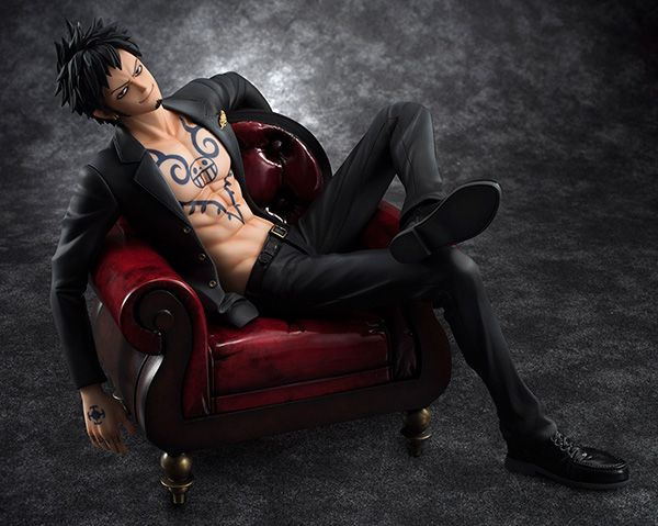 Фигурка One Piece - Portrait of Pirates Trafalgar Law 1/8